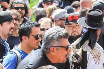 George Lopez George Lopez Outside Hollywood Walk Of Fame Star Ceremony For Cypress Hill