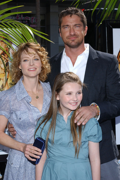 gerard butler and jodie foster photos photos quotnims