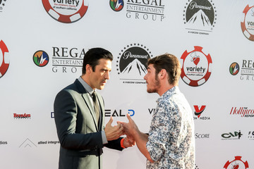 Gilles Marini 7th Annual Variety - The Children's Charity of Southern California Texas Hold 'Em Poker Tournament - Arrival