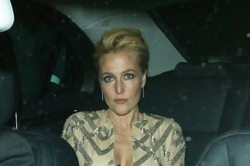 Gillian Anderson Gillian Anderson at the Harper's Bazaar Woman of the Year Awards