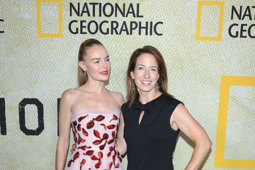 Gina Denomy Premiere of National Geographic's 'The Long Road Home'