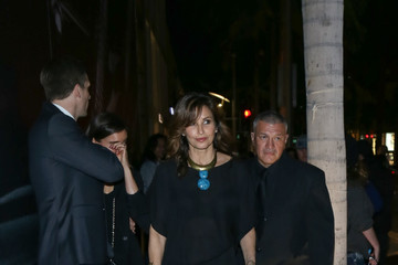 Gina Gershon Celebrity Sightings at Giorgio Armani in Beverly Hills