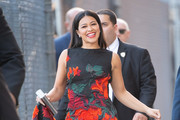 Gina Rodriguez Appears On 'Kimmel'