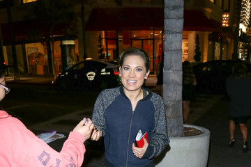 Ginger Zee Celebrity Sightings at Mixology Nightclub