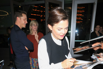 Ginnifer Goodwin Ginnifer Goodwin Leaving 'The Female Brain' Premiere at ArcLight theatre