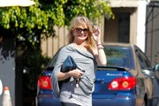 Goldie Hawn Out and About