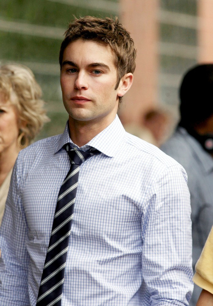 Chace Crawford Photos Photos - 'Gossip Girl' films in ...
