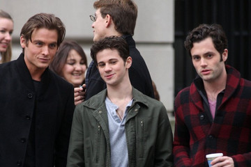 Conner Paolo 'Gossip Girl' Films Near Central Park