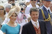 Guests arrive for the royal wedding of Prince Albert II and Charlene Wittstock at the Prince's Palace of Monaco.