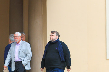 Guillermo del Toro Celebrity Sightings in Beverly Hills on March 21