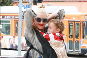 Gwen Stefani Takes Her Family to Church