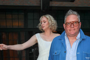 Giles Deacon and Gwendoline Christie Photos Photo