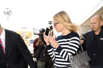 Gwyneth Paltrow Gwyneth Paltrow Shows Her Stripes