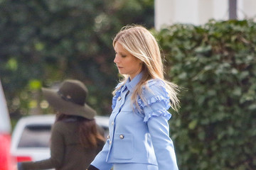 Gwyneth Paltrow Gwyneth Paltrow Rocks a Baby Blue Suit