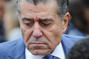 Haim Saban Haim Saban Hollywood Star Ceremony Candid