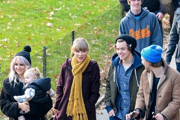 Harry Styles Lou Teasdale Taylor Swift and Harry Styles Together in Central Park