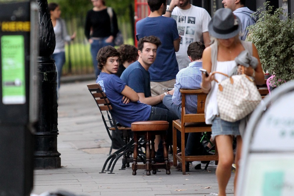 Harry Styles Photos Harry Styles And Nick Grimshaw In