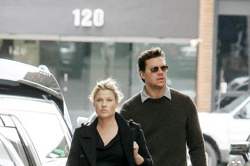 Hayes MacArthur Ali Larter and Hayes MacArthur Out and About