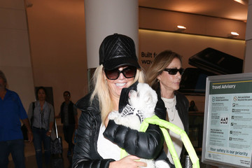 Heather Locklear Heather Locklear Is Seen at LAX