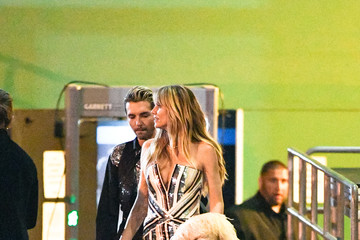 Heidi Klum Heidi Klum Outside Warwick Nightclub In Hollywood