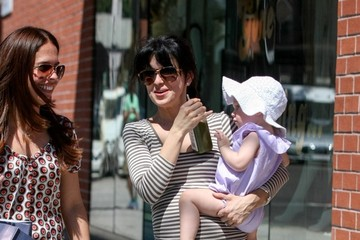 Hilaria Baldwin Alec Baldwin and Family Out and About