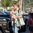Hilary Duff Hilary Duff And Daughter Banks Violet Seen In Los Angeles On July 12, 2019