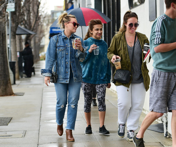 Hilary And Haylie Duff Step Out In L.A.