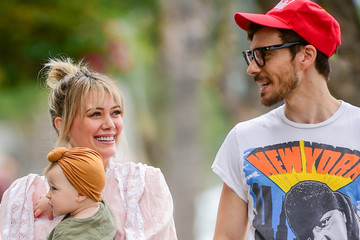Hilary Duff Matthew Koma Hilary Duff And Matthew Koma Spend Time Together In L.A.