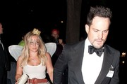 Hilary Duff and Mike Comrie at Casamigos Tequila's Halloween Party