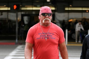 Hulk Hogan Hulk Hogan at LAX