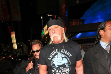 Hulk Hogan Hulk Hogan Outside Andre The Giant Premiere After Party At Lure Nightclub