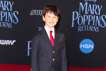 Iain Armitage Premiere Of Disney's 'Mary Poppins Returns'