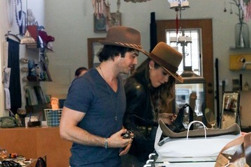 Ian Somerhalder Nikki Reed and Ian Somerhalder Shop