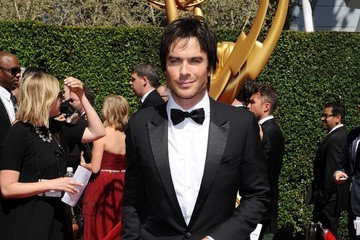 Ian Somerhalder Stars at the Creative Arts Emmy Awards