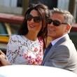 George Clooney and His Wife Go Boating