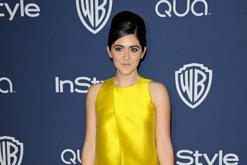 Isabelle Fuhrman Arrivals at the InStyle/Warner Bros. Golden Globes Party