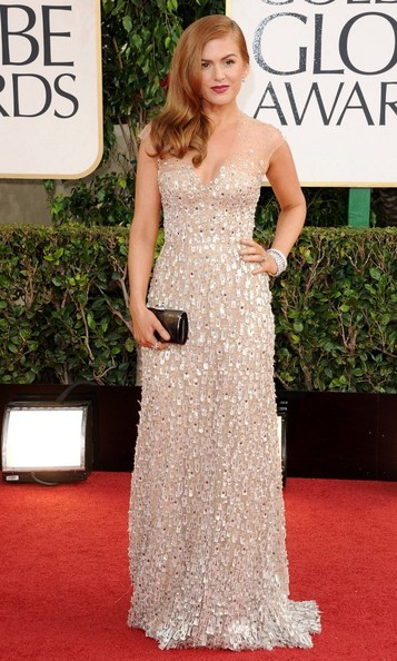 Isla Fisher - 70th Annual Golden Globe Awards