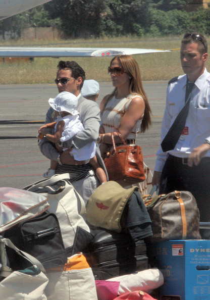 Jennifer+Lopez in Jennifer Lopez with her Family in Rome