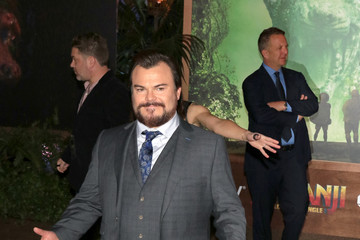 Jack Black Premiere of Columbia Pictures' 'Jumanji: Welcome to the Jungle'