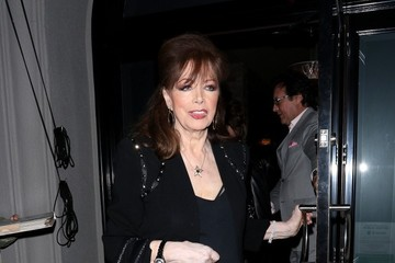 Jackie Collins Celebs Enjoy a Night Out at Craig's