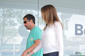 Jackie Sandler Adam Sandler Goes Out With Wife Jackie