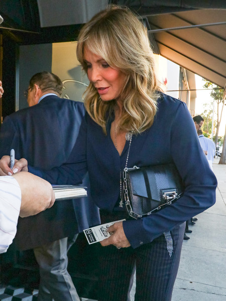 Jaclyn Smith Is Seen Outside Craig's Restaurant In West Hollywood []