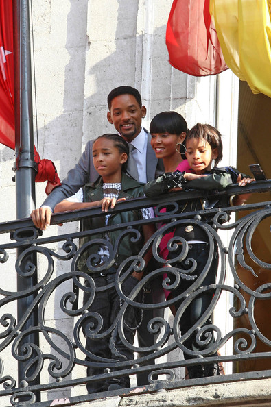 will smith wife jada. Will Smith arrived with wife