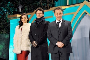 James Franco Sam Raimi 'Oz: The Great and Powerful' Premieres in Japan