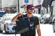 James Franco is seen in Los Angeles, California.