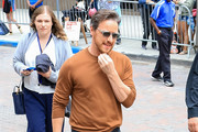 James McAvoy greets fans at Comic-Con