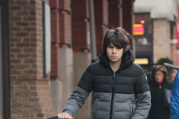 James Righton James Righton Out With His Daughter