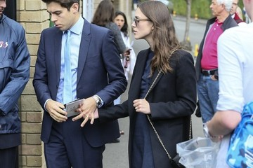 James Righton Keira Knightly and James Righton at Wimbledon