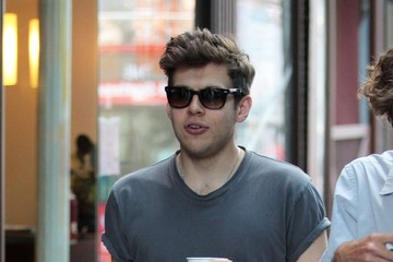 James Righton Stars on the Set of 'Can a Song Save Your Life?'