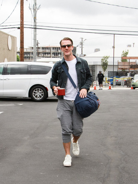 James Van Der Beek Seen In Los Angeles